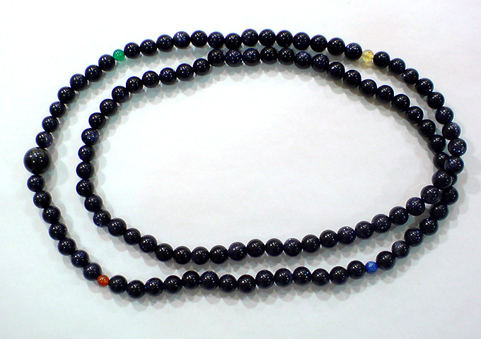 「数珠」作りワーク