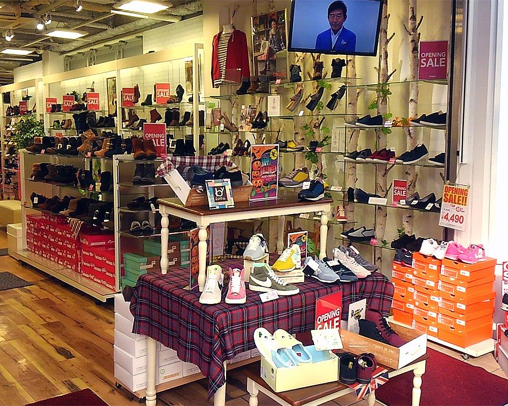 靴のチヨダ新装開店