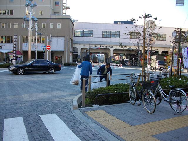駅前広場の管理