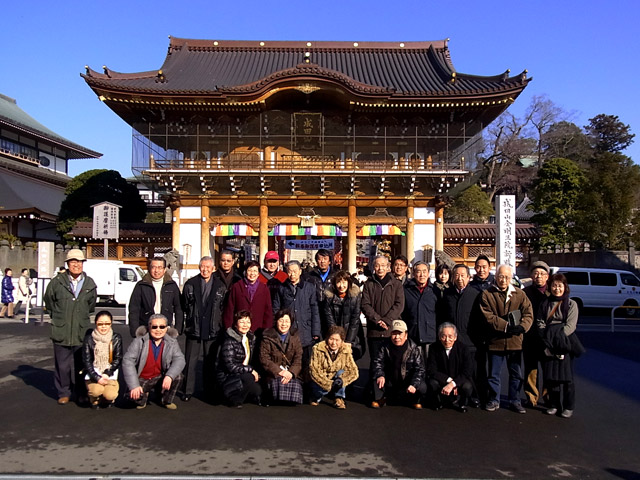2011年、成田山初詣