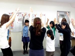 2014年阿波おどり教室演舞